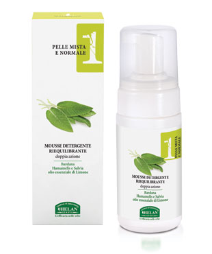 Linea 1 - Re-balancing cleansing Mousse 100 ml