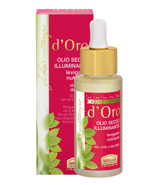 D'Oro - Radiance Dry Oil 30 ml