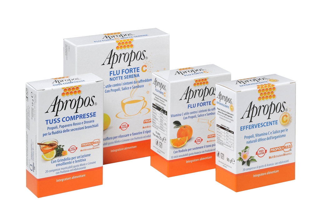 Apropos - Flu Forte C Orosolubile 10 stick