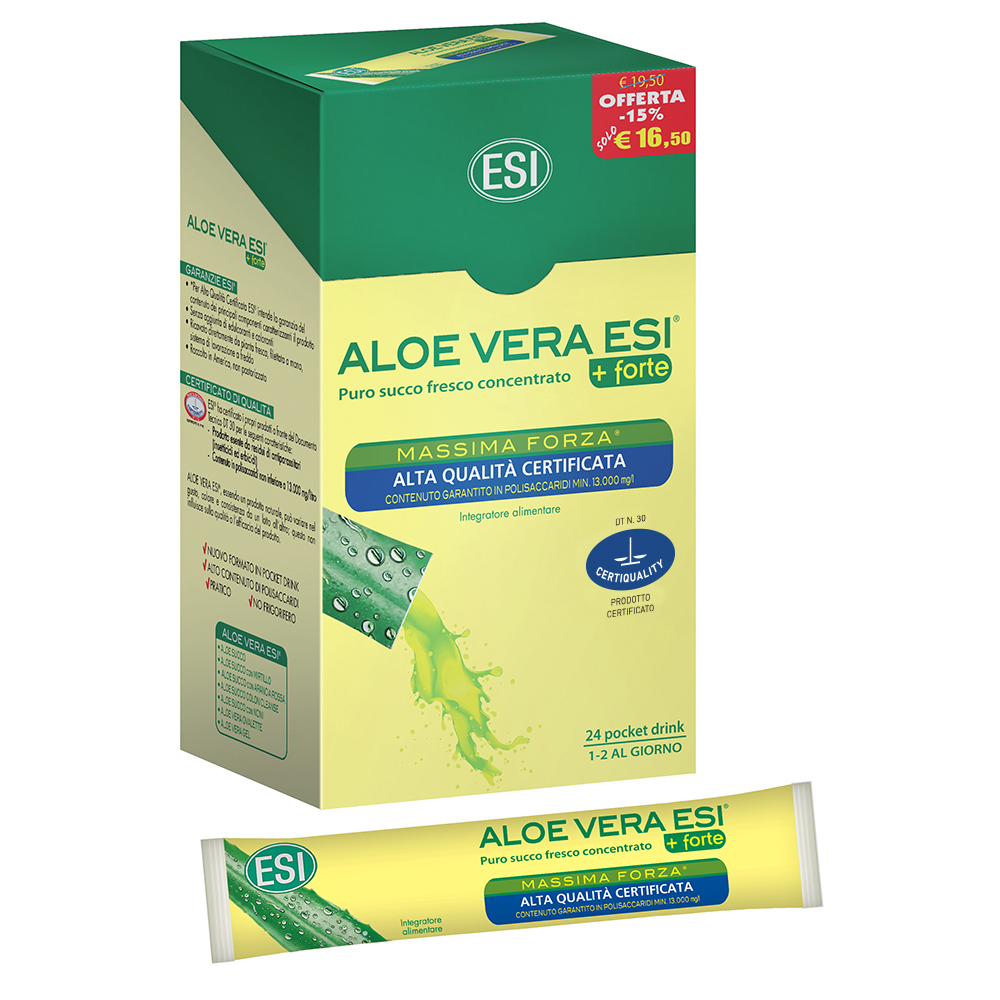 Aloe Vera Juice Concentrate 24 pocket