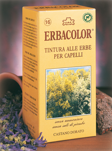 Erbacolor - Permanent Hair Dye 210 ml