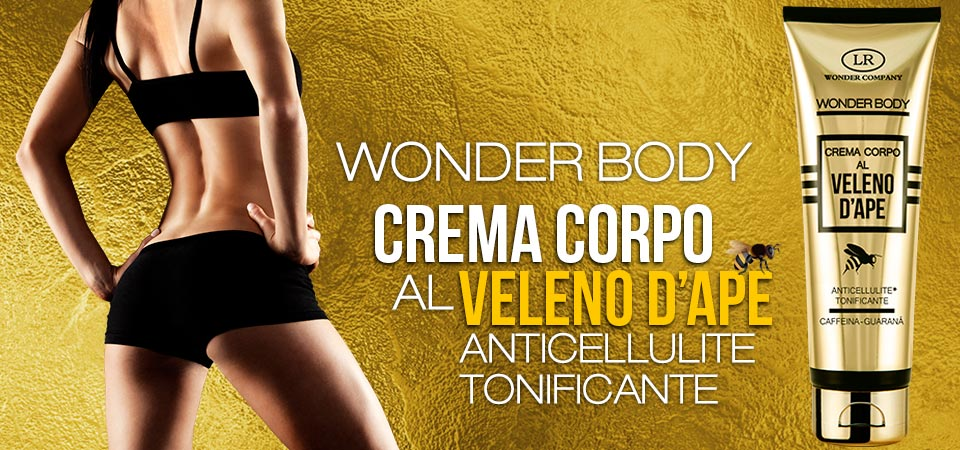 Wonderbee - Crema Corpo anticellulite 125 ml