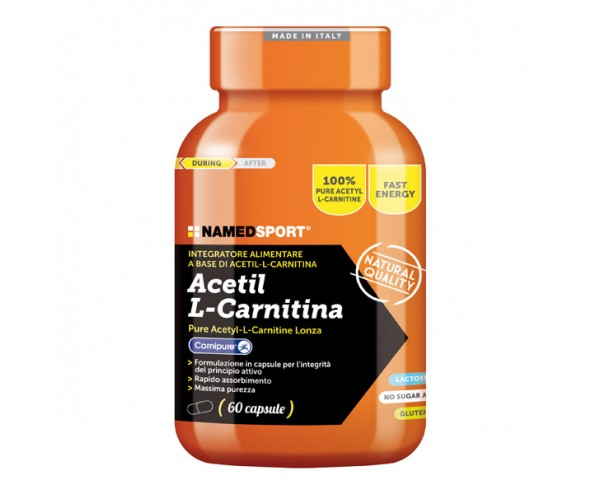 NamedSport - Acetil L-Carnitina 60 cps