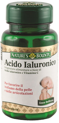 Nature's Bounty - Ialuronic Acid 30 tabs