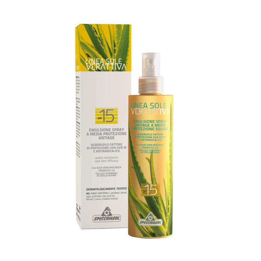 VERATTIVA Sun protection SPF 15 200ml