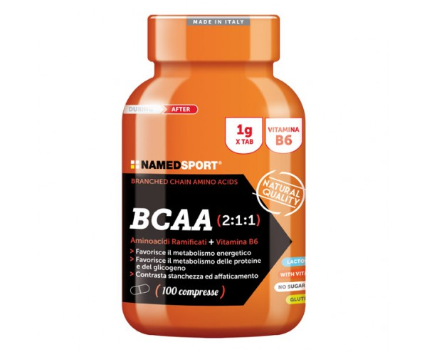 NamedSport - BCAA 2:1:1 100 tabs