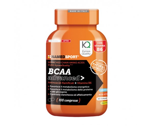 NamedSport - BCAA Advanced 2:1:1 100 tabs