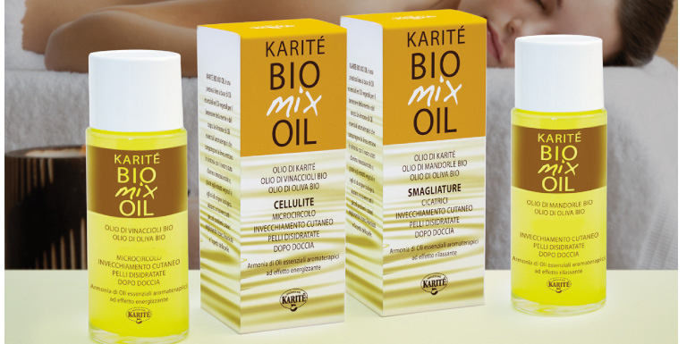 Karitè Bio Mix Oil - Antietà Viso e Contorno Occhi 60 ml