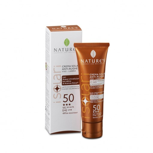 I SOLARI - Sun Cream Face/Lips SPF50 50 ml