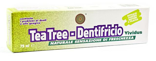 Dentifricio con Tea Tree 75 ml
