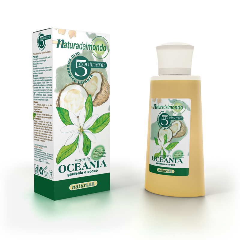 Bath & Eudermic Oil OCEANIA 200 ml