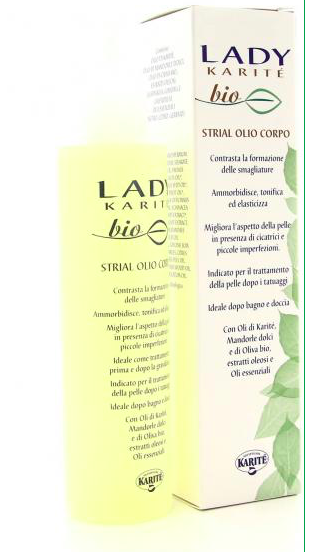 Lady Karitè Bio -Strial Olio corpo 150ml