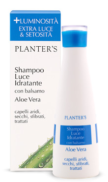 "Planter's - Hydrating Shampoo ""Luce"" 200 ml"