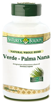 Nature's Bounty - Saw Palmetto 250 tabs
