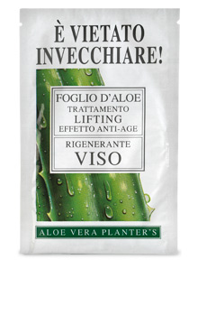 Aloe leaf for Face Lifting Treatment