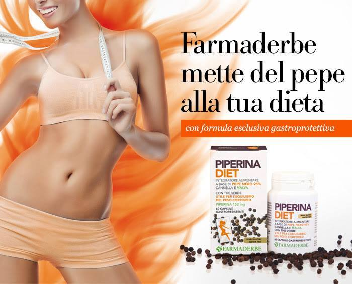 Piperina Diet 60 cps