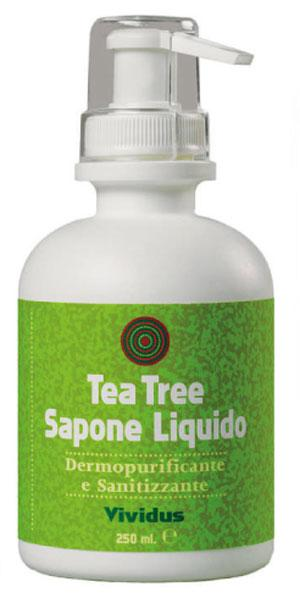 Sapone liquido al tea tree 250 ml