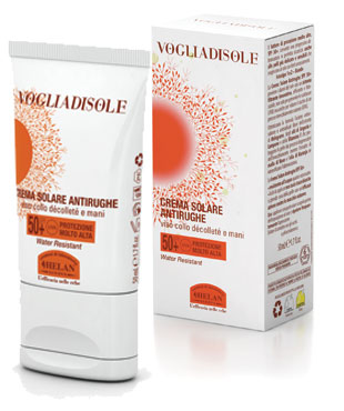 Voglia DI Sole - ANTI-WRINKLES SUN CREAM SPF 50+ 75ml