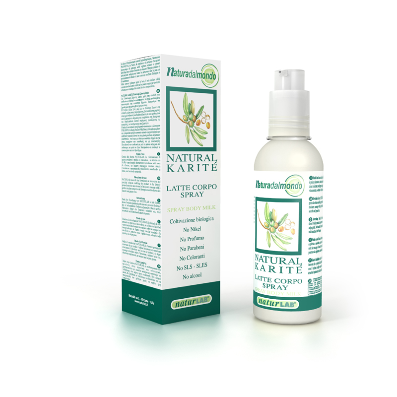 Naturlab - Body Milk Spray 125 ml
