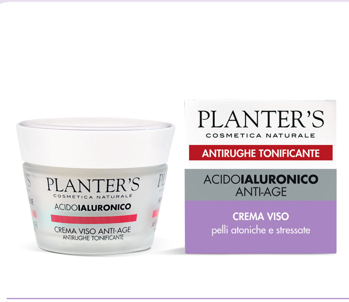 Planter's Acido Ialuronico - Crema Viso Antirughe 50 ml
